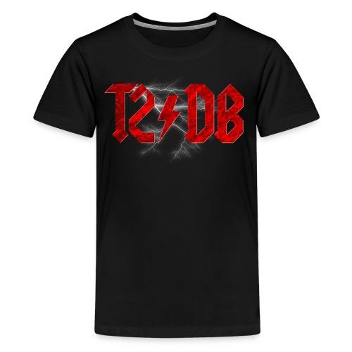 T2/DB AC/DC Style - Kids' Premium T-Shirt