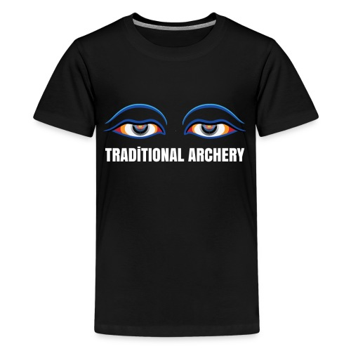 Traditional Archery Gift : Gift for an Archer or - Kids' Premium T-Shirt