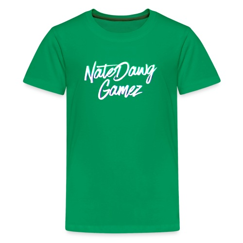 Newel Black Painted tp Nate- - Kids' Premium T-Shirt