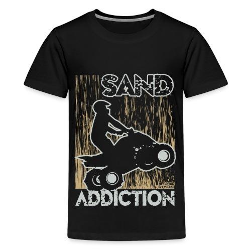 ATV Quad Sand Addiction - Kids' Premium T-Shirt