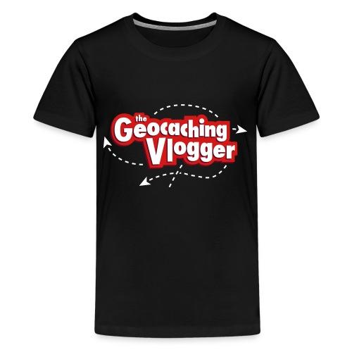 Gilldan Geocaching Vlogger T-Shirt - Kids' Premium T-Shirt