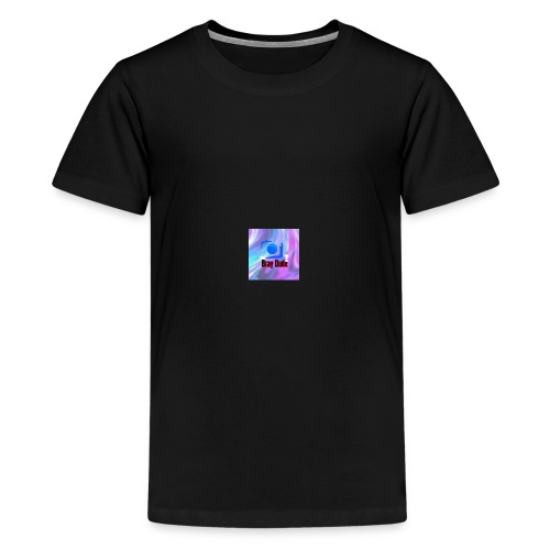 it is my vloging channel logo - Kids' Premium T-Shirt