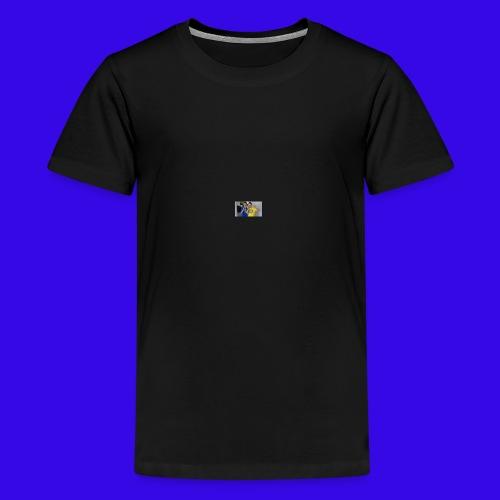 The Neiman Channel peace sign - Kids' Premium T-Shirt