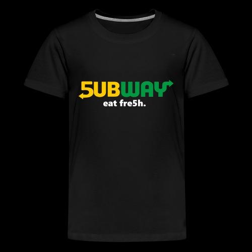 5ubway Print - Kids' Premium T-Shirt