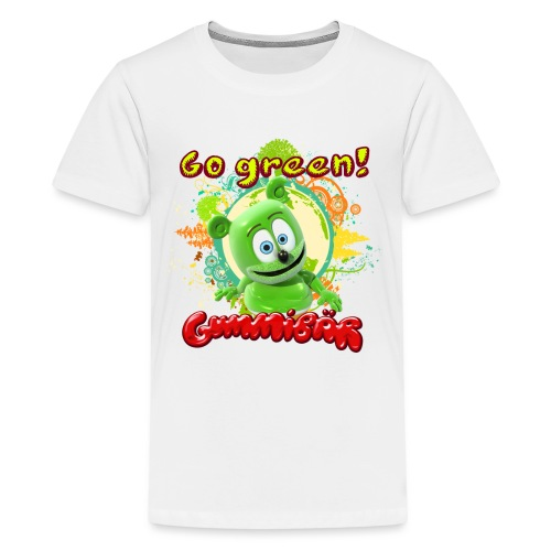 Gummibär Go Green Earth Day Trees - Kids' Premium T-Shirt