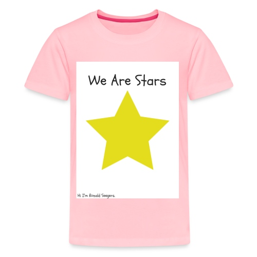 Hi I'm Ronald Seegers Collection-We Are Stars - Kids' Premium T-Shirt