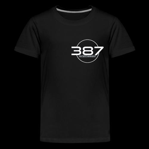 387 Entertainment White - Kids' Premium T-Shirt