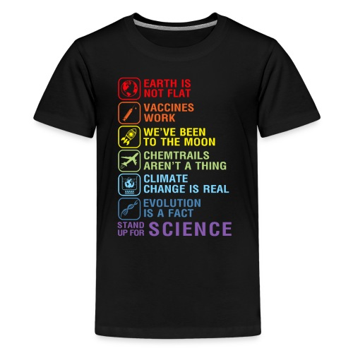 stand up for science shirt - Kids' Premium T-Shirt