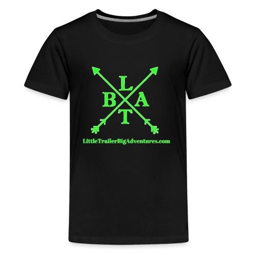 Green LTBA Logo - Kids' Premium T-Shirt