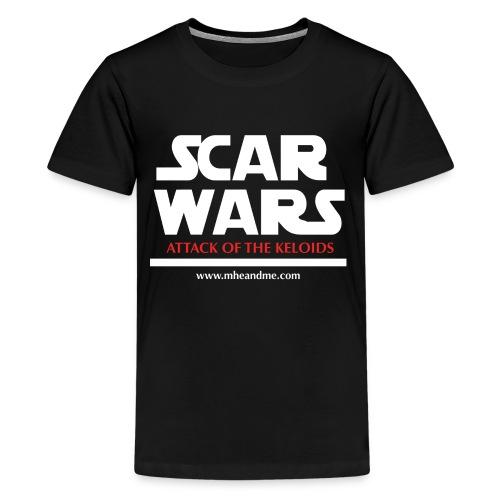 ScarwarsATTACK png - Kids' Premium T-Shirt
