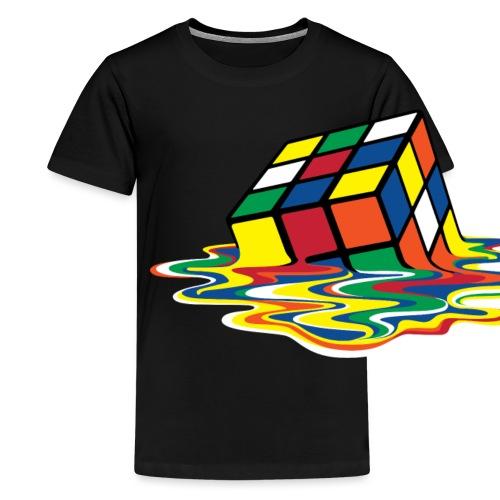 meltingcube - Kids' Premium T-Shirt