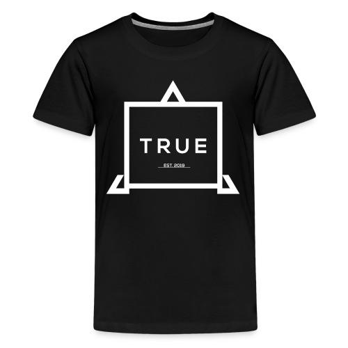 True Logo design by Borimore - Kids' Premium T-Shirt