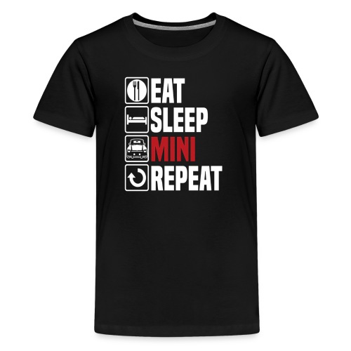 Eat Sleep Mini Funny - Kids' Premium T-Shirt