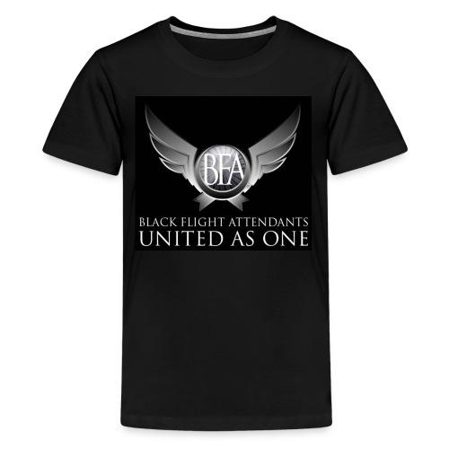 BFAU black n silver - Kids' Premium T-Shirt