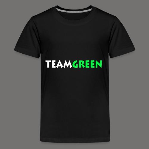 TeamGreen png - Kids' Premium T-Shirt