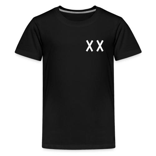 MKI White Logo Black - Kids' Premium T-Shirt