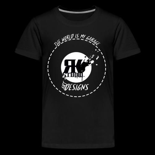 The World is My Garage - Kids' Premium T-Shirt