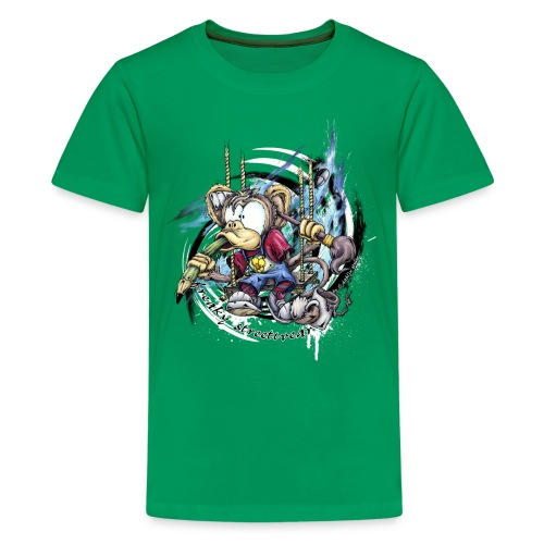 the graphic monkey - Kids' Premium T-Shirt