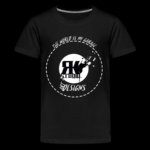 The World is My Garage - Kids' Premium T-Shirt