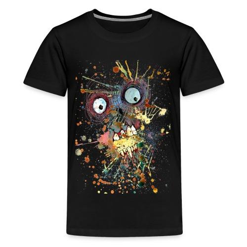 shocked zombie - Kids' Premium T-Shirt