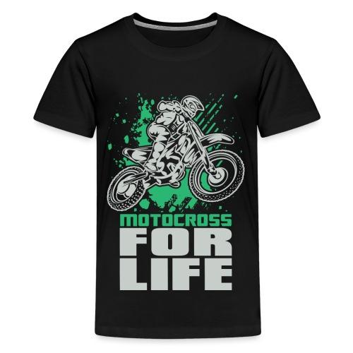 Motocross For Life Stunt - Kids' Premium T-Shirt
