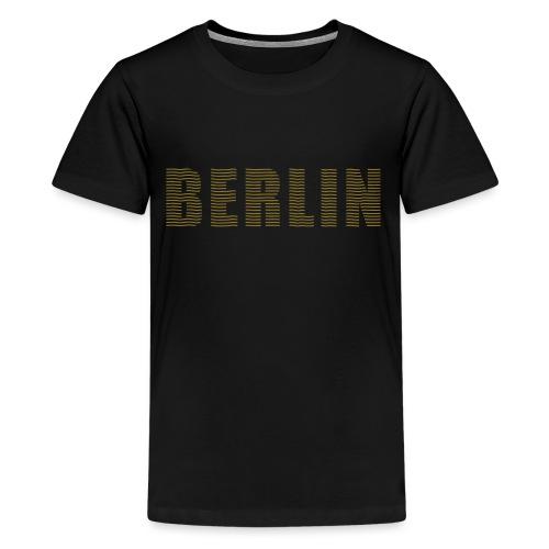 BERLIN line-font - Kids' Premium T-Shirt