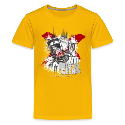 No hide & Seek - Kids' Premium T-Shirt