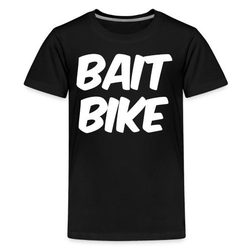 BAIT BIKE WHITE - Kids' Premium T-Shirt