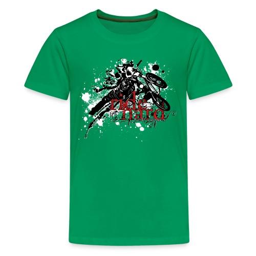 ride hard bmx - Kids' Premium T-Shirt