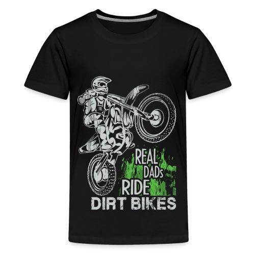 Fathers Day Motocross - Kids' Premium T-Shirt