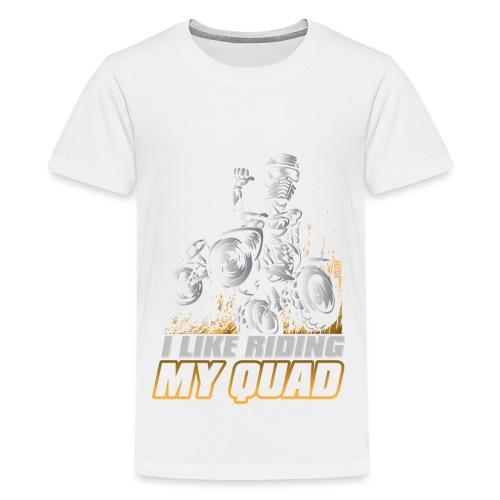 ATV Quad Like Stunt Rider - Kids' Premium T-Shirt