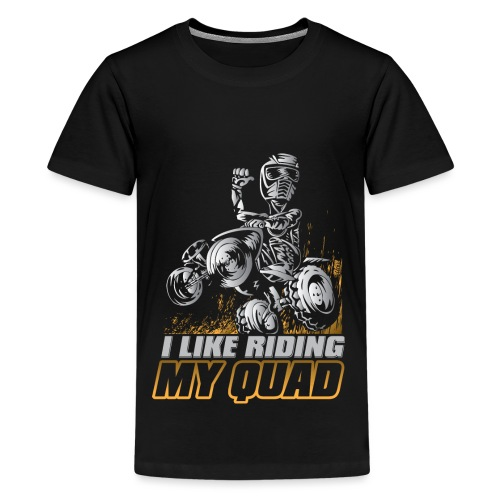 ATV Quad Like Stunt Rider - Kids' Premium T-Shirt