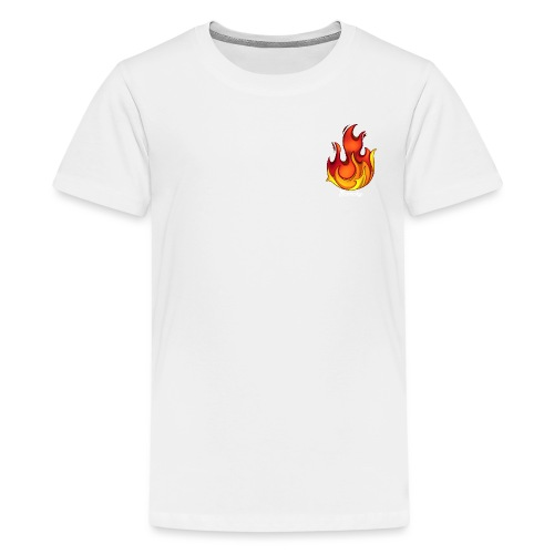 Scorchy White Logo - Kids' Premium T-Shirt