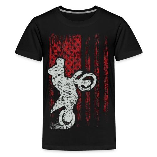 Supercross Stunt USA - Kids' Premium T-Shirt
