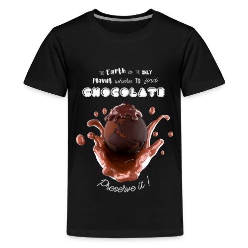 Planet chocolate - Kids' Premium T-Shirt