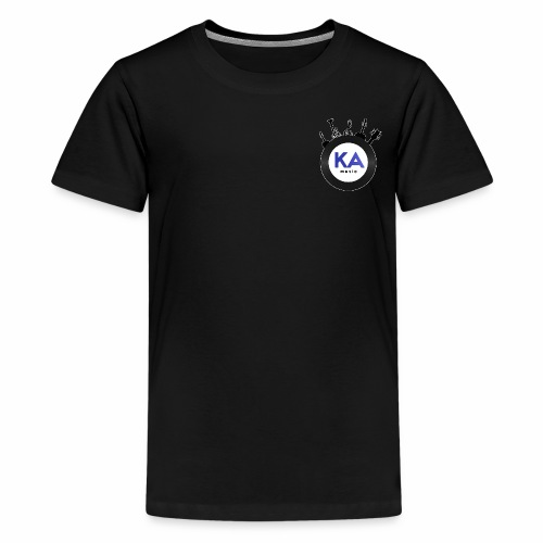 Official KAM Logo (Outlined) - Kids' Premium T-Shirt