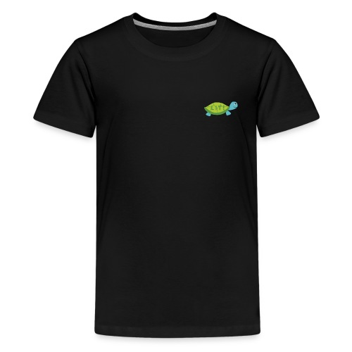 LIT turtle merch - Kids' Premium T-Shirt