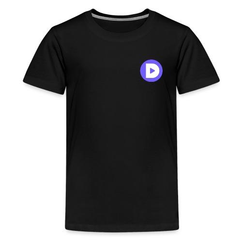 Round DLive Logo - Kids' Premium T-Shirt