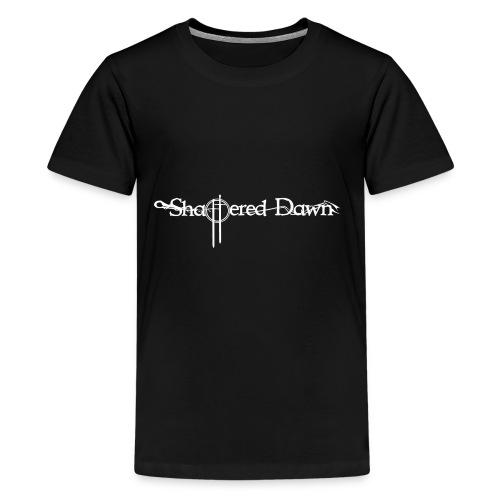 Shattered Dawn Logo White - Kids' Premium T-Shirt