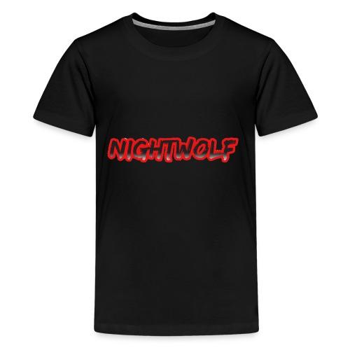 T-Shirt with Nightwolf Logo - Kids' Premium T-Shirt