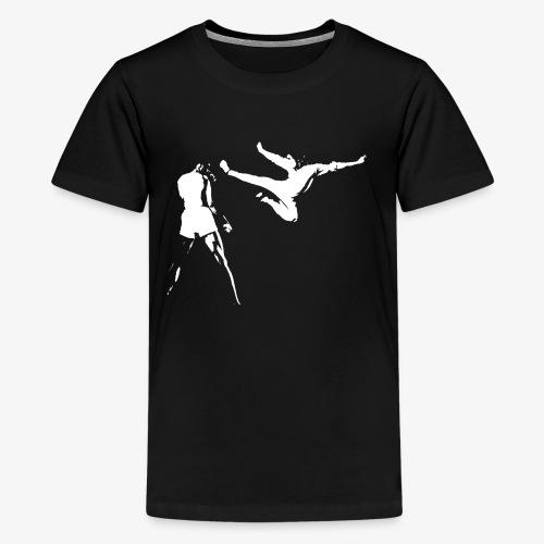 G Death white - Kids' Premium T-Shirt