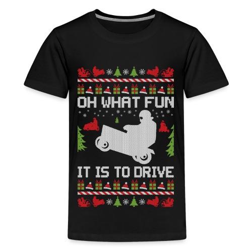 Lawnmower Christmas - Kids' Premium T-Shirt