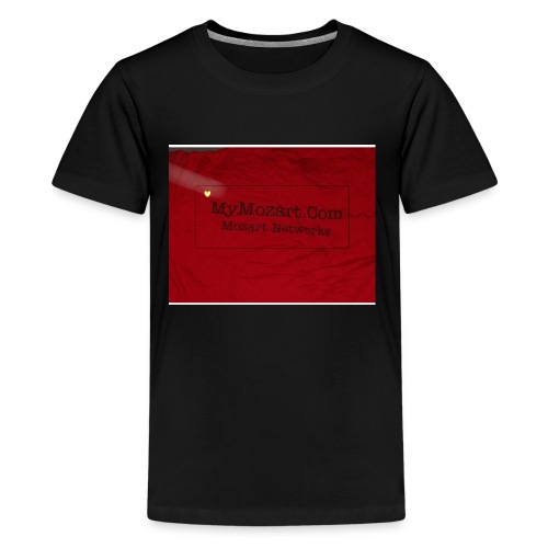 Mozart Networks Clothing & E-commerce - Kids' Premium T-Shirt