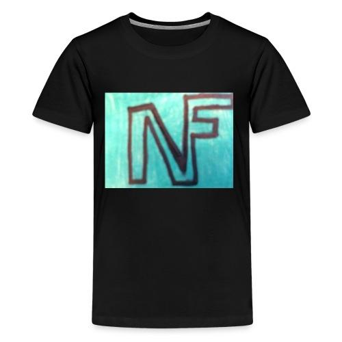 NF logo - Kids' Premium T-Shirt