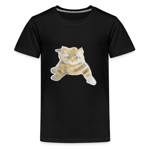 sad boy - Kids' Premium T-Shirt