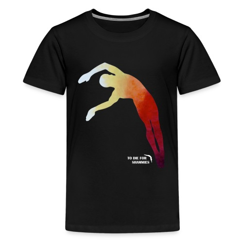 Back Twisting Diver - Kids' Premium T-Shirt