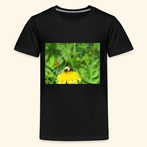 Dandelion Bee - Kids' Premium T-Shirt