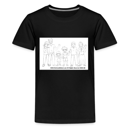 The Extreme Dieters after the Diet - Much Love - Kids' Premium T-Shirt