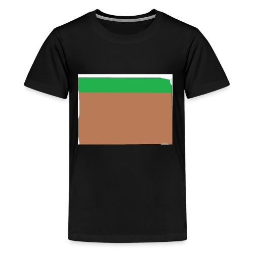Grass block - Kids' Premium T-Shirt