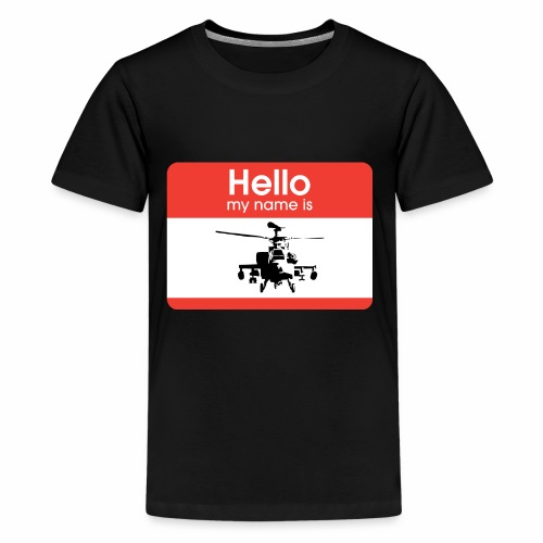 Apache is the name - Kids' Premium T-Shirt